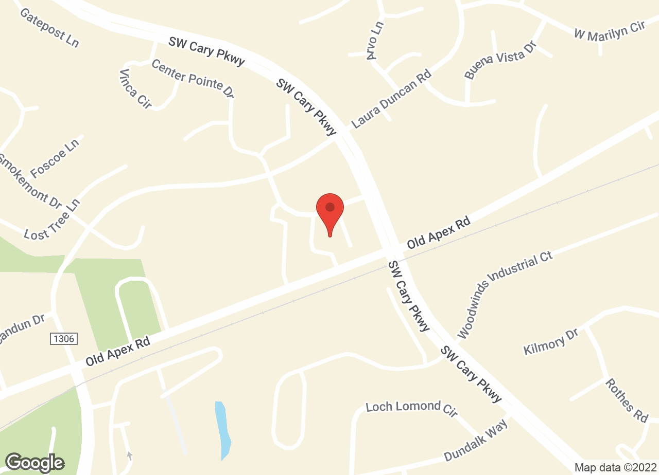 Google Map of VCA Parkway Animal Hospital