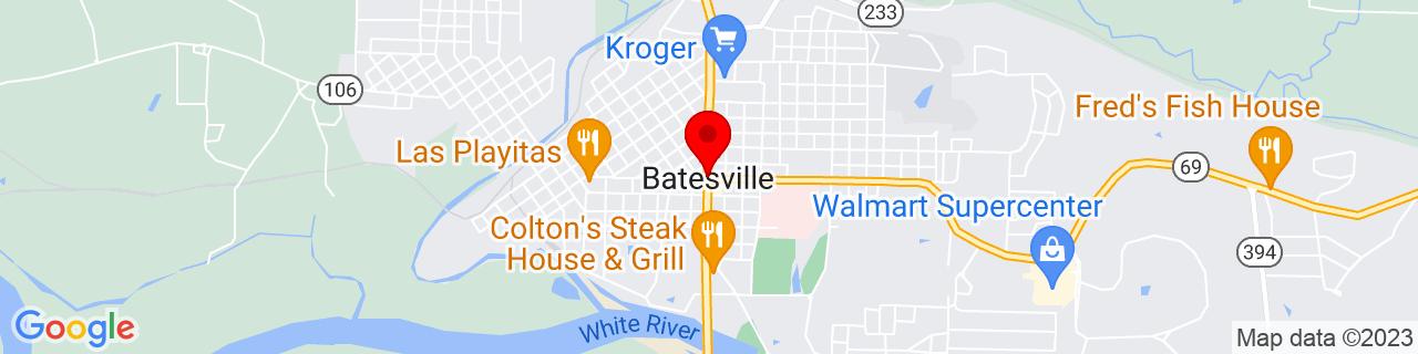 Google Map of 35.769799, -91.6409721