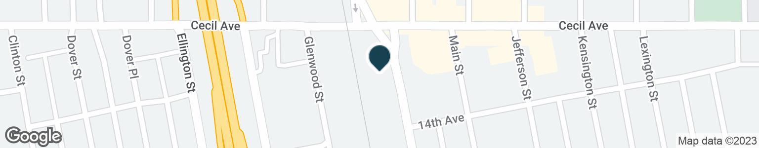 Google Map of1435 HIGH ST