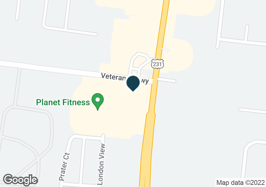 Google Map of3010 S CHURCH ST