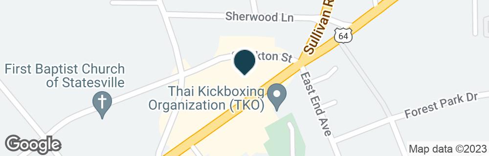 Google Map of951 DAVIE AVE