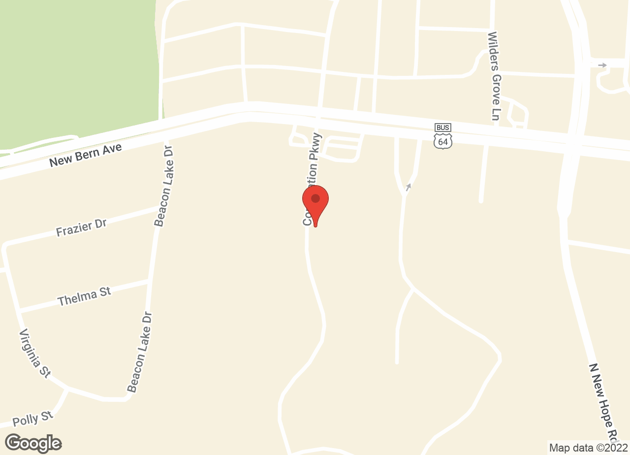 Google Map of VCA Triangle Tower Animal Hospital