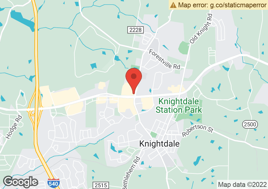 Google Map of 7143 KNIGHTDALE BLVD