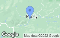 Map of Posey, CA