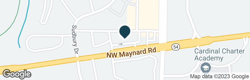 Google Map of2323 NW MAYNARD RD