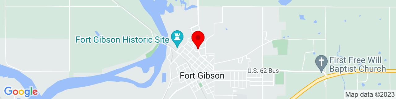 Google Map of 35.8034593, -95.25161349999999