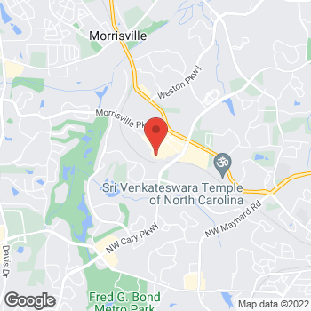 Map of buybuy BABY at 3121 Market Center Drive, Morrisville, NC 27560