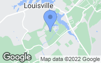 Map of Louisville, TN