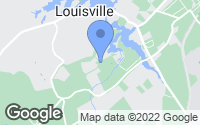 Map of Louisville, TN