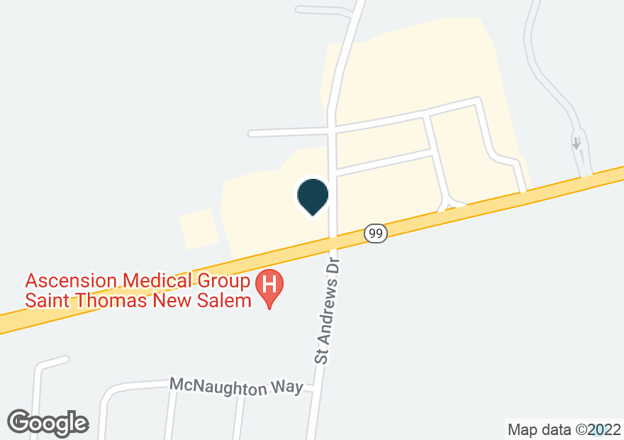 Google Map of2708 NEW SALEM HWY