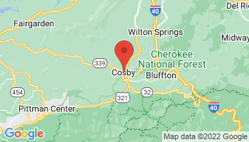 Map of Cosby