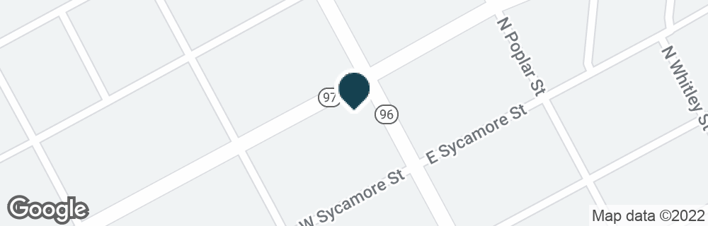 Google Map of101 W GANNON AVE