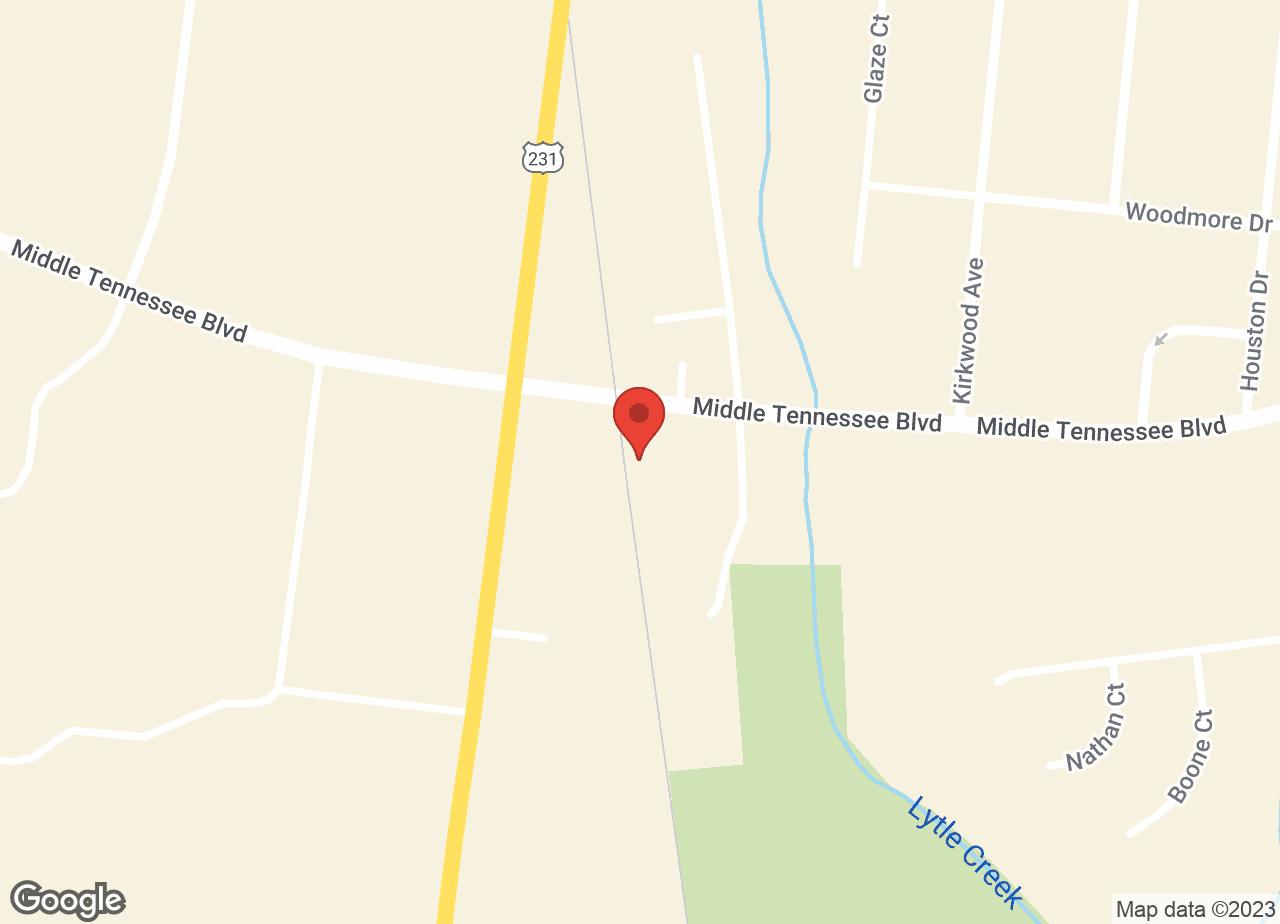 Google Map of VCA Creekside Animal Hospital