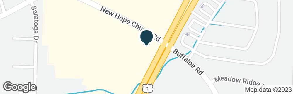 Google Map of3911 CAPITAL BLVD