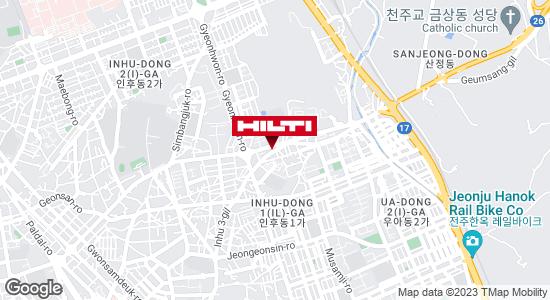 Get directions to 전주덕진인후496