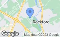 Map of Rockford, TN