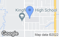 Map of Kingfisher, OK