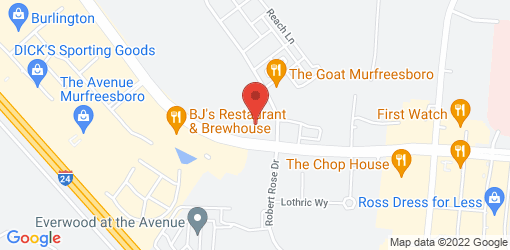 Directions to Juicy's Wellness Cafe of Murfreesboro