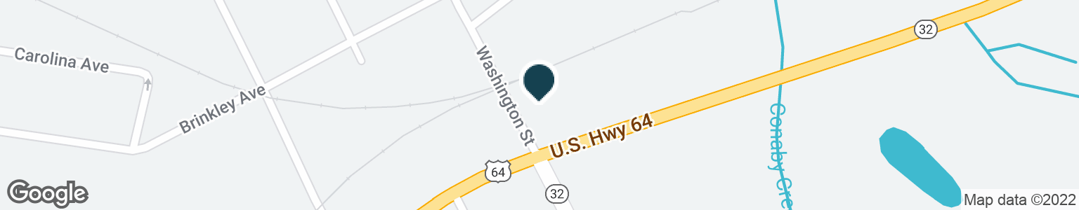 Google Map of11 US HIGHWAY 64 E