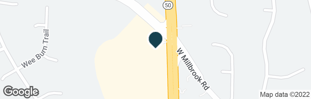 Google Map of2201 W MILLBROOK RD