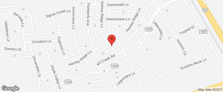 1309 Hemby Ridge Lane Morrisville NC 27560