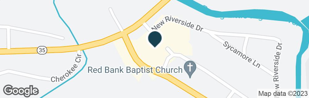 Google Map of303 NEW RIVERSIDE DR