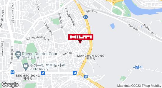 Get directions to 대구수성만촌990