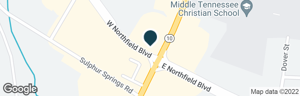 Google Map of106 W NORTHFIELD BLVD