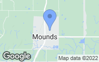 Map of Mounds, OK