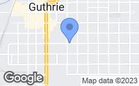 Map of Guthrie, OK
