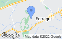 Map of Farragut, TN
