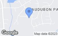 Map of Durham, NC