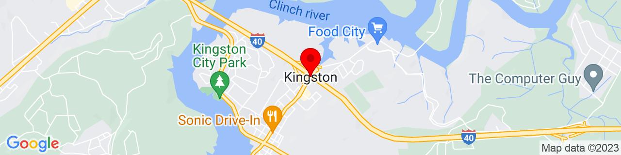 Google Map of 35.8809084, -84.5085447