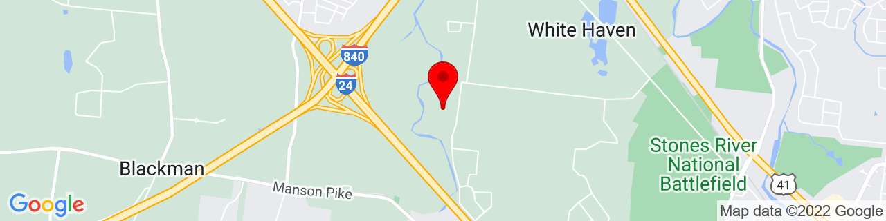 Google Map of 35.88118, -86.46305
