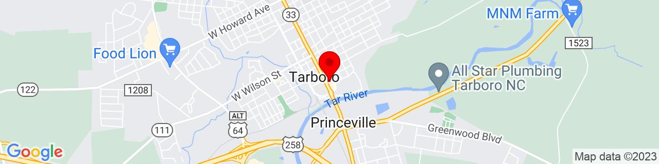 Google Map of 35.89615, -77.533228