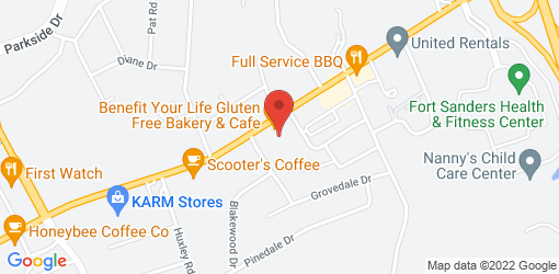 Directions to Benefit Your Life Gluten Free Bakery & Cafe