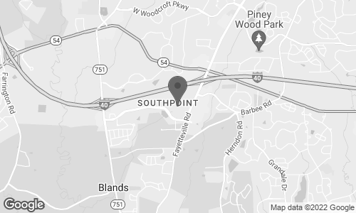 Map of 6910 Fayetteville Road in Durham