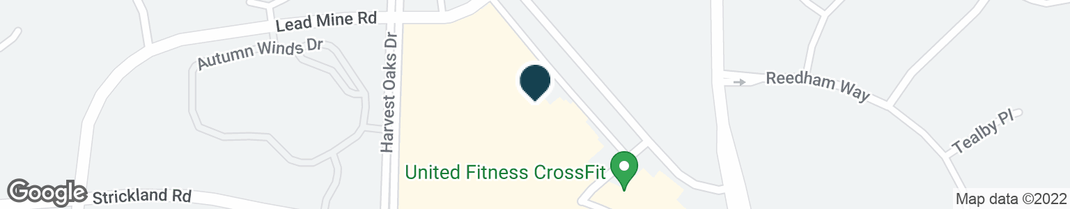 Google Map of9650 STRICKLAND RD