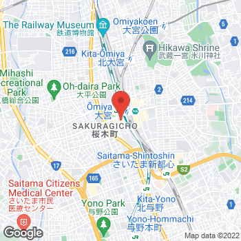 Map of Salvatore Ferragamo Women's at 1-6-2 Sakuragi-cho, Saitama, Saitama 330-0854