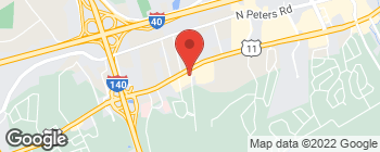 Map of 9700 Kingston Pike in Knoxville