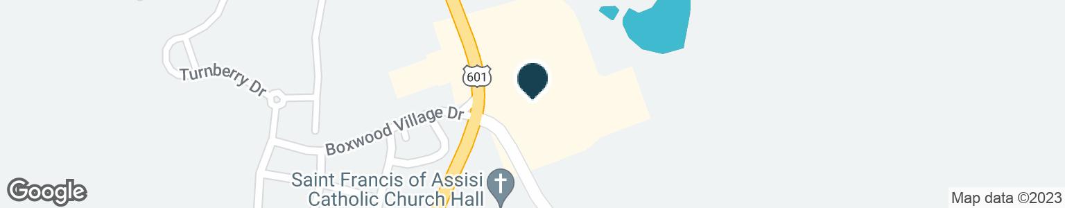 Google Map of901 YADKINVILLE RD