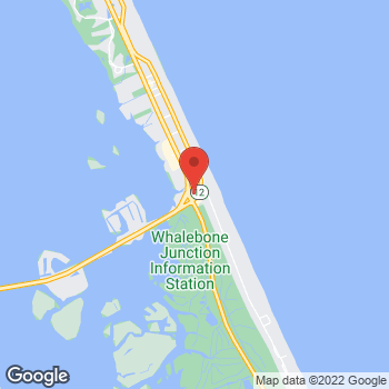 Map of Taco Bell at 7320 S. Virginia Dare Trail, Nags Head, NC 27959