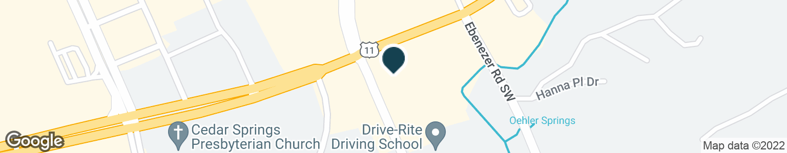 Google Map of8950 KINGSTON PIKE