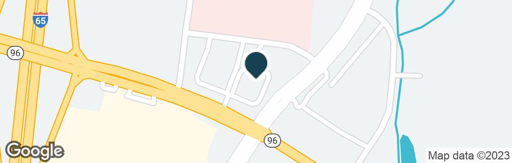 Google Map of1509 MURFREESBORO RD
