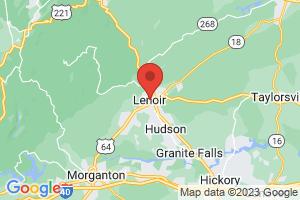 Map of Lenoir