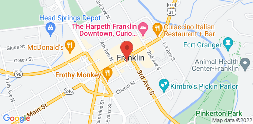 Directions to Mellow Mushroom Franklin