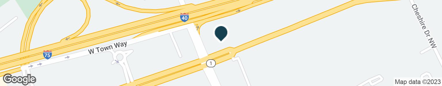 Google Map of7523 KINGSTON PIKE