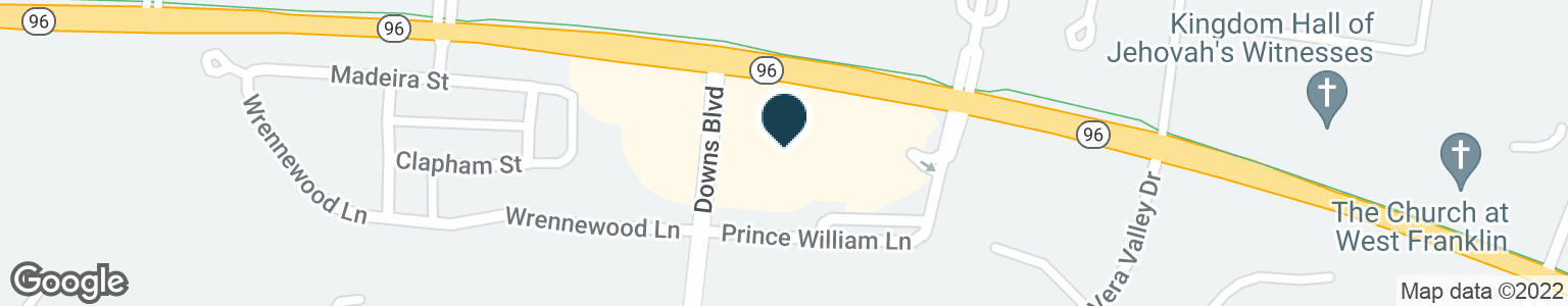 Google Map of1451 NEW HIGHWAY 96 W