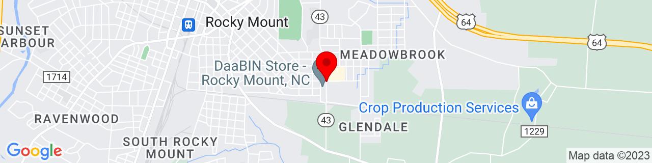 Google Map of 35.9300088, -77.7745642