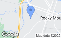 Map of Rocky Mount, NC